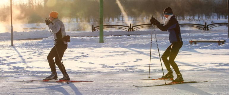 Лыжный турнир в поселении Краснопахорское